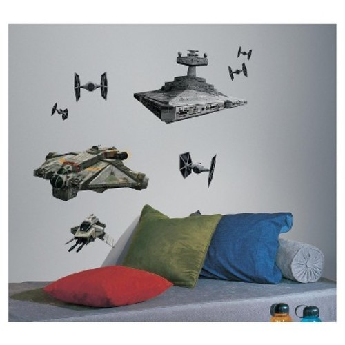 RoomMates Star Wars Rebel & Imperial Ships Peel and Stick Giant Wall Decals