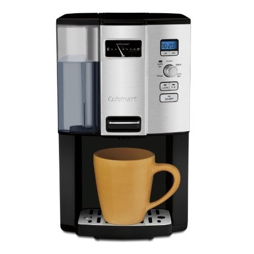 Cuisinart DCC-3000 Coffee-on-Demand 12-Cup Programmable Coffeemaker + Cuisinart DCG-12BC REFURBISHED Grind Central Coffee Grinder