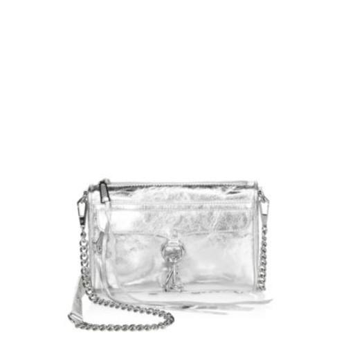 Mini-Mac Leather Crossbody Bag