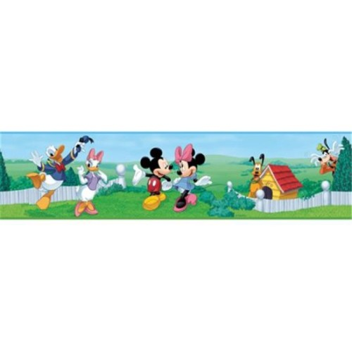 RoomMates Mickey and Friends Peel and Stick Wallpaper Border