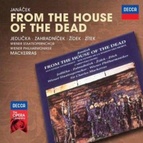 Decca Opera: Janacek - From the House of the Dead By Charles Mackerras (Audio CD)
