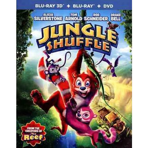 Jungle Shuffle (Blu-ray/DVD) [Jungle Shuffle Blu-ray/DVD]