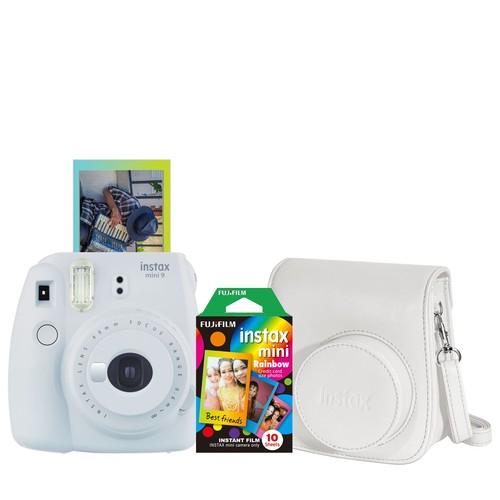 Fujifilm Instax Mini 9 Instant Film Camera with Film and Case