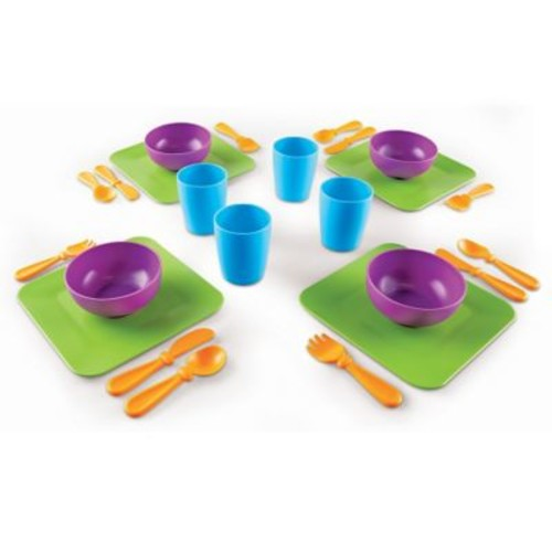Learning Resources New Sprouts Serve it! My Very Own Dish Set