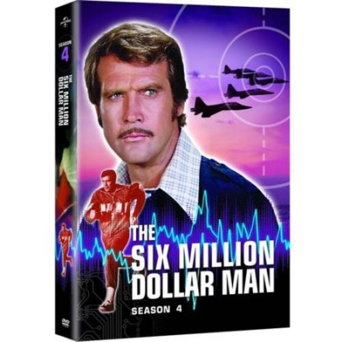 The Six Million Dollar Man: Season 4 [8 Discs] [DVD]