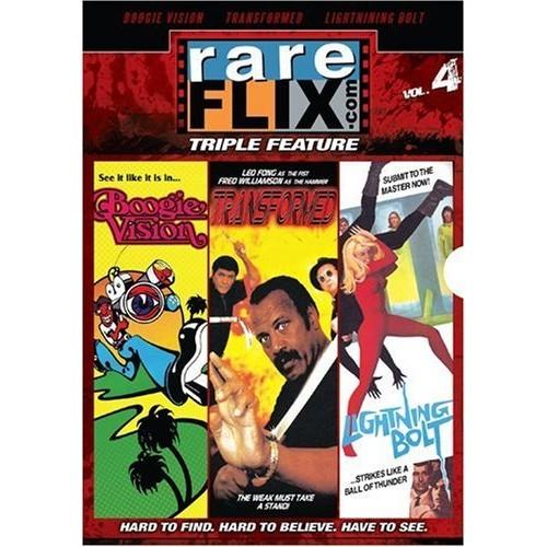 Rareflix.com Triple Feature - Volume 4: (Boogie Vision / Lighting Bolt / Transformed)
