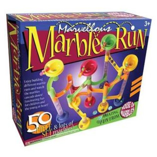AreYouGame Marvellous Marble Run - 50 Piece Set