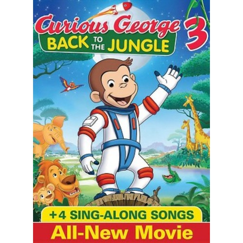 Curious George 3: Back To The Jungle (DVD)