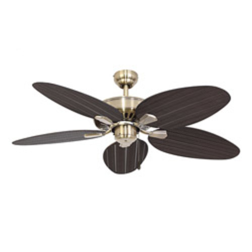 Monte Carlo Light Cast Max Brushed Steel 52-inch Ceiling Fan