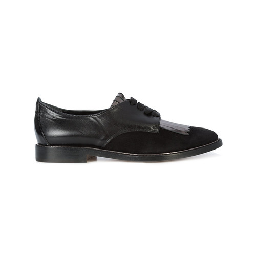 Adelaide fringed derby shoes