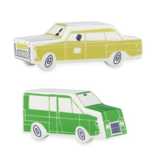 kate spade new york Hopscotch Drive About Town Car Salt and Pepper Shakers