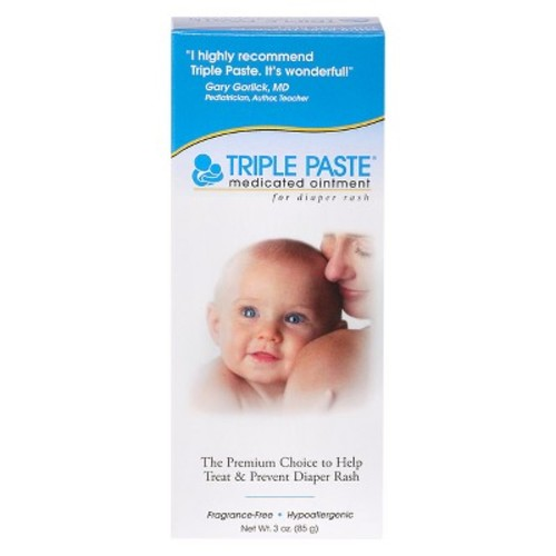 Triple Paste Diaper Rash Ointment - 3oz