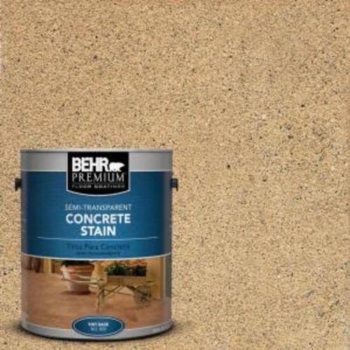 BEHR Premium 1 gal. #STC-10 Desert Flagstone Semi-Transparent Interior/Exterior Concrete Stain