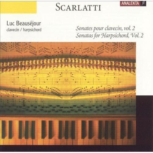 Scarlatti: Sonatas for Harpsichord, Vol. 2 [CD]