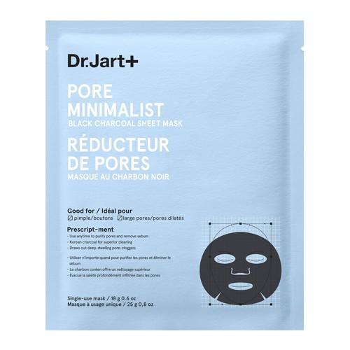 Dr. Jart+ Pore Minimalist Black Charcoal SheetMask, 0.8 oz