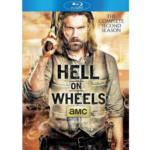 Hell on Wheels: The Complete Second Season [3 Discs] [Blu-ray]
