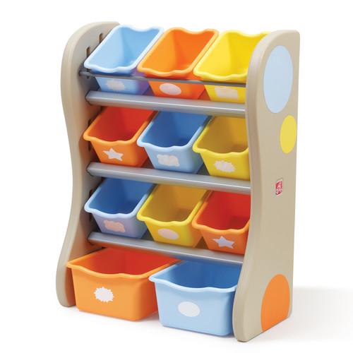 Step2 Storage Bin Organizer, Tropical Colors