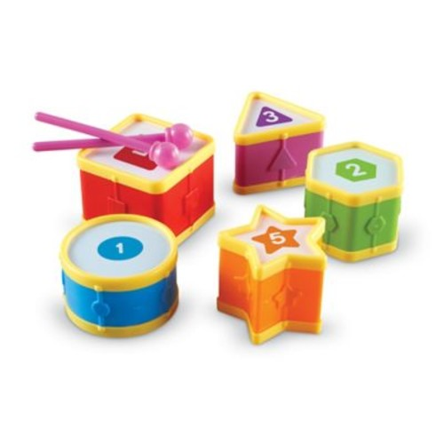 Learning Resources 7- Piece Learning Drums