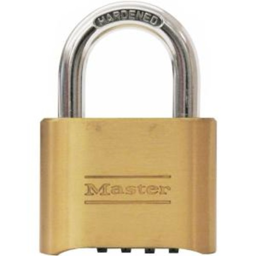 Master Lock 2 in. Set-Your-Own 4-Digit Combination Padlock