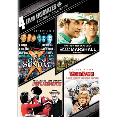 Football Collection: 4 Film Favorites [4 Discs] [DVD]
