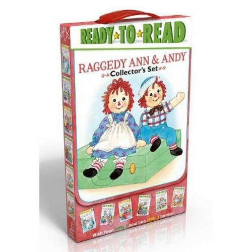 Raggedy Ann & Andy Collector's Set: School Day Adventure / Day at the Fair / Leaf Dance / Going to Grandma's / Hooray for Reading! / Old Friends, New Friends