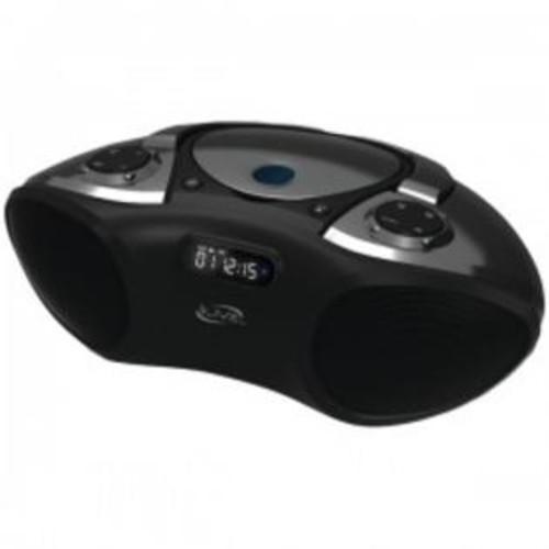 iLive Ibc233B Black Bluetooth Boombox Plays Cd Cd-R-Rw