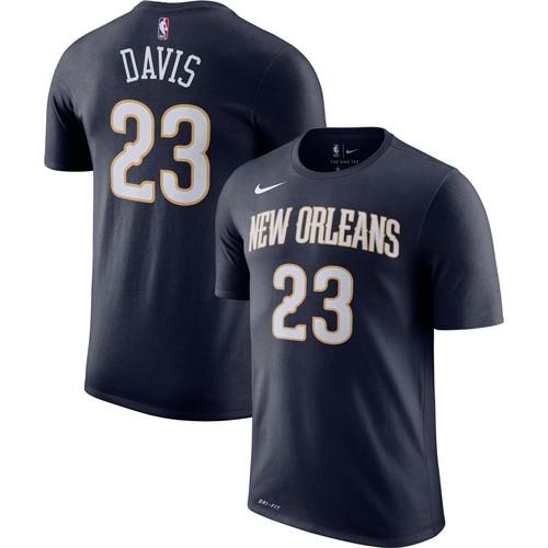 Nike Men's New Orleans Pelicans Anthony Davis #23 Dri-FIT T-Shirt