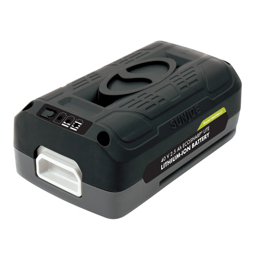 Sun Joe iBAT40-LT iON EcoSharp PRO 40 V 2.5 Ah Lithium-Ion Battery -