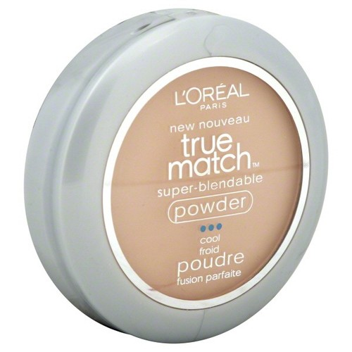 L'Oreal True Match Super-Blendable Powder, Cool, Natural Ivory C2, 0.33 oz (9.5 g)