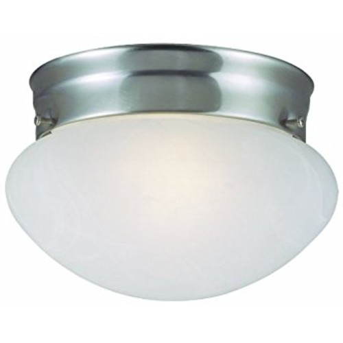 Design House 511568 Millbridge 2 Light Ceiling Light, Satin Nickel [Satin Nickel, 9.25