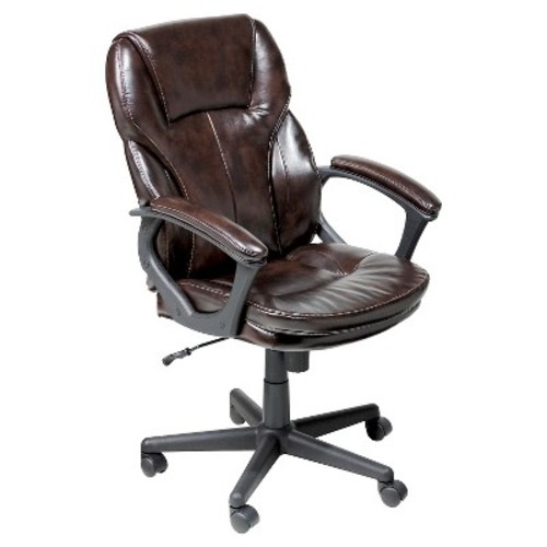 Manager's Chair Roasted Chestnut Brown - Serta