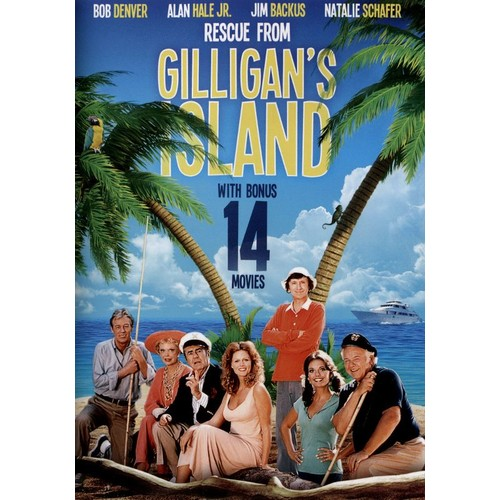 Rescue From Gilligan's Island with Bonus 14 Movies [3 Discs] [DVD]