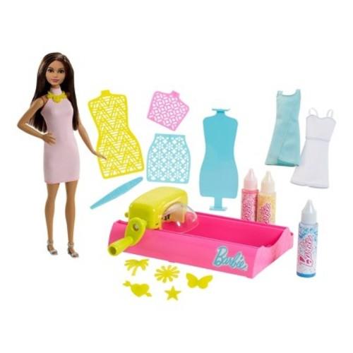 Barbie Crayola Color Magic Station and Brunette Doll