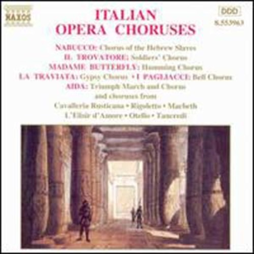 Italian Opera Choruses Audio Compact Disc