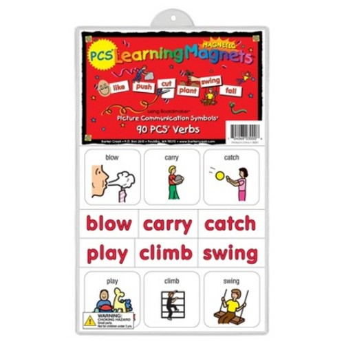 Barker Creek LM-3000 PCS Learning Magnets - 90 Verbs