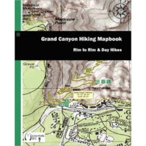 Grand Canyon Hiking Mapbook: Rim to Rim and Day Hikes