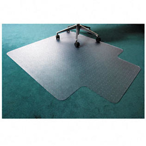 Floortex Cleartex Ultimat Polycarbonate Chair Mat for Carpet, 48 x 53, With Lip, Clear