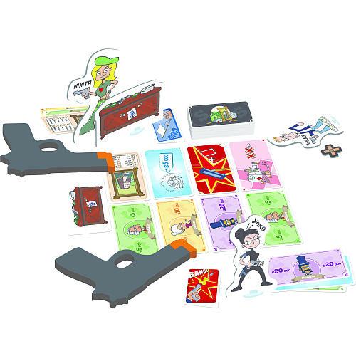Cash 'n Guns Card Game