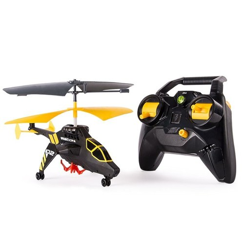 Spin Master Air Hogs Mission Alpha RC Helicopter, Black