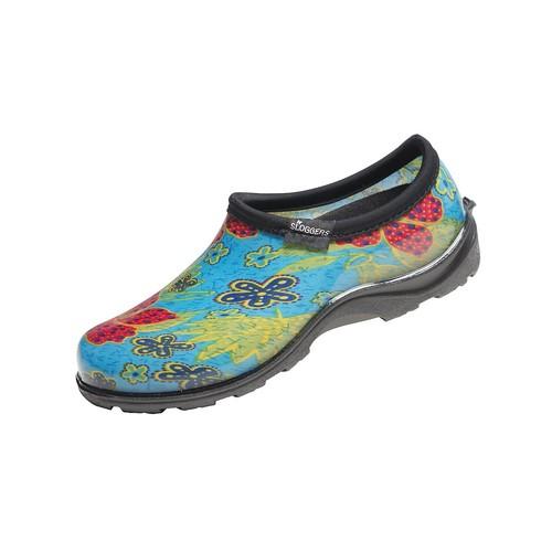 Sloggers Women's Waterproof Comfort Shoes Midsummer Blue 9 [9]