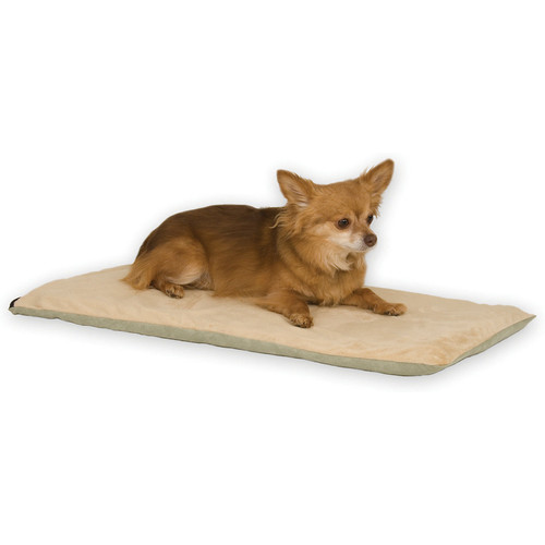 K&H Pet Products Thermo-Pet Mat Pet Bed [Mocha]