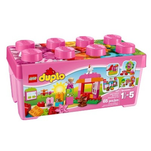 LEGO DUPLO My First All-in-One-Pink-Box-of-Fun 10571