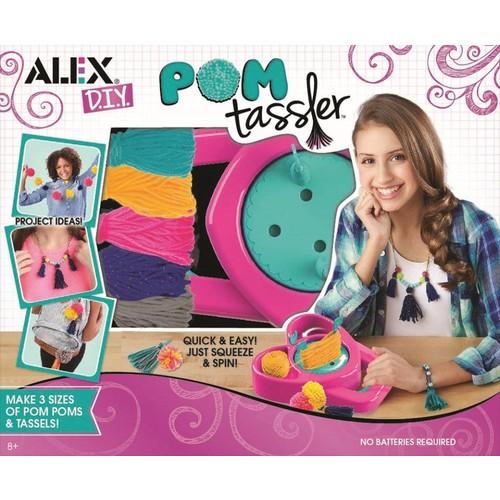 Alex Toys DIY Pom Tassler Craft Set
