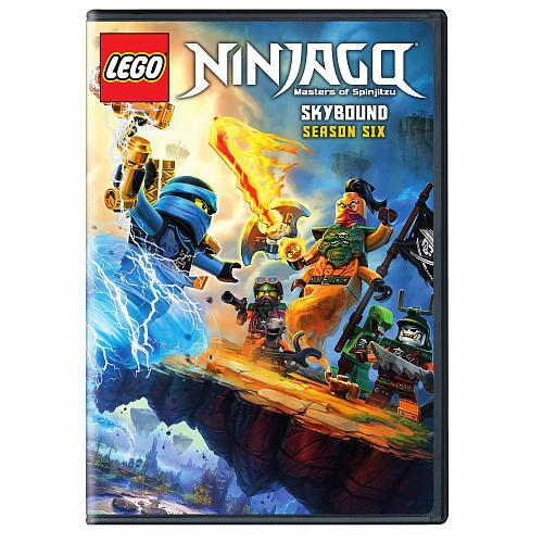 LEGO Ninjago Masters of Spinjitzu: Skybound Season Six DVD