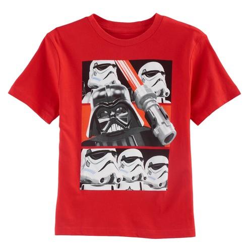 Boys 4-7 Lego Star Wars Darth Vader & Stormtrooper Graphic Tee