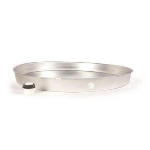 Everbilt 24 in. ID Aluminum Water Heater Drain Pan