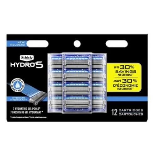Schick Hydro Sense Hydrate Mens Razor Blade Refill, Includes 12 Razor Blades Refills