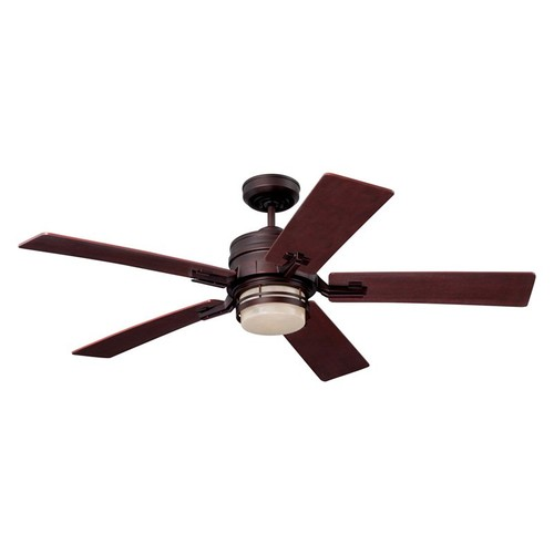 Emerson Ceiling Fans CF880VNB Amhurst Indoor Ceiling Fan With Light And Wall Control, 54-Inch Blades, Venetian Bronze [Venetian Bronze]