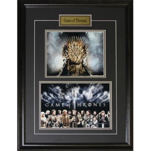 Midway Memorabilia Game Of Throne Kings Chair 2 Photograph Frame