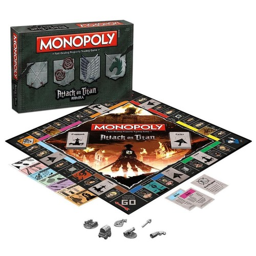 USAopoly Monopoly(R) Attack on Titan Board Game